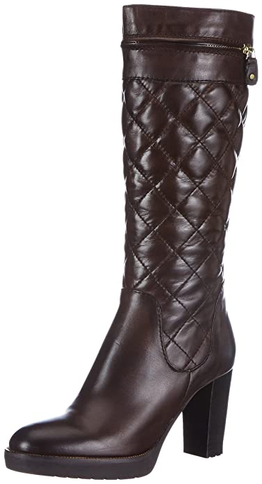 Scarpe Stivali Donna BRUNO PREMI in Pelle Marrone Numero 40 Chiusura Zip ovnUT5c