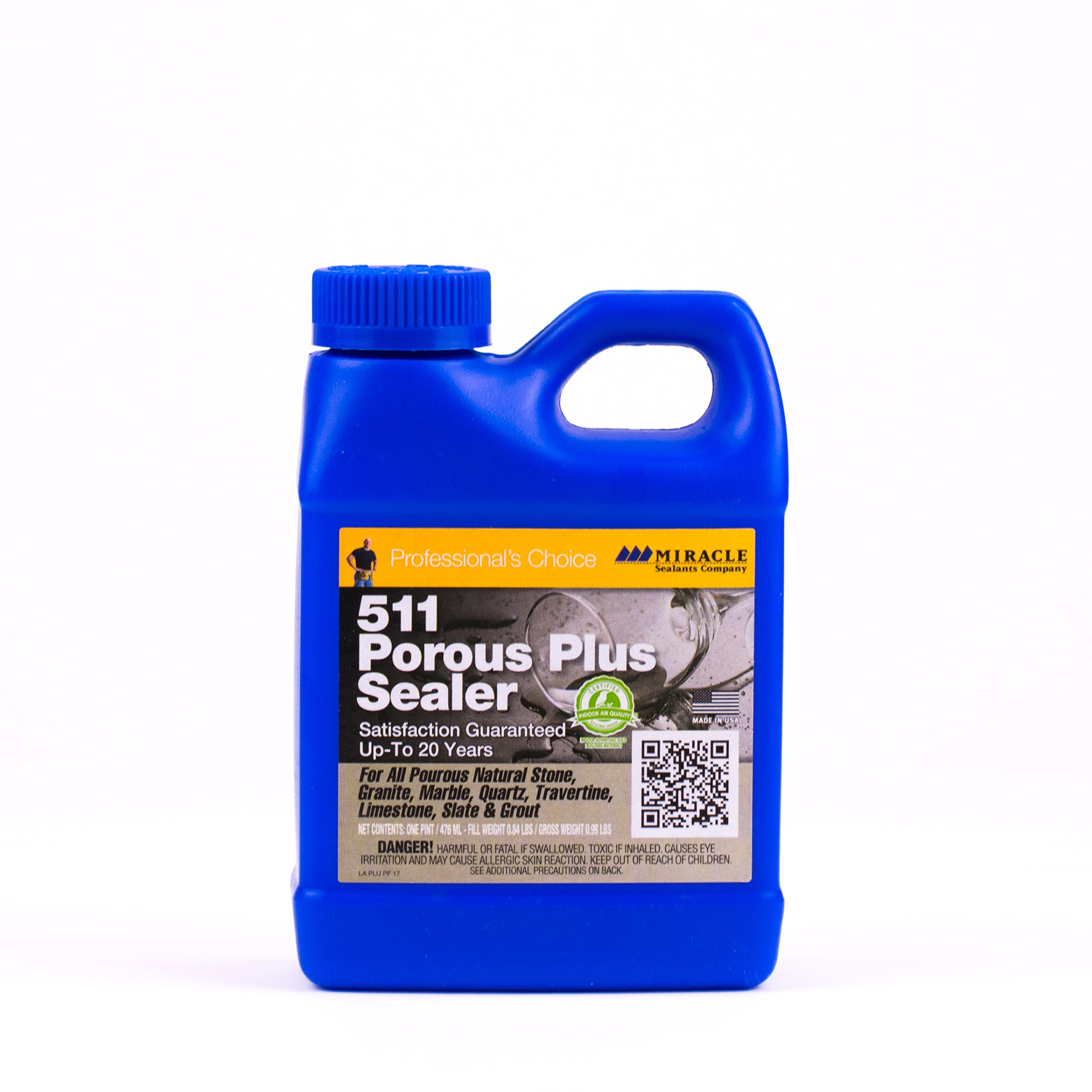 Miracle Sealants PLUS PT SG 511 Porous Plus Penetrating Sealer, Pint