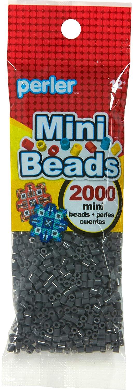 Canutillos Mini Hama Beads, 2000 unidades, negras