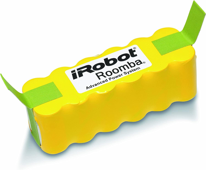 iRobot - Bateria 80504 iRobot, Este Modelo De Batería Es Compatible Con Todos Los Modelos De La Serie 500 De Roomba. Tiene Capacidad Hasta 4 Habitaciones Con Una Sola Carga: Amazon.es: Hogar