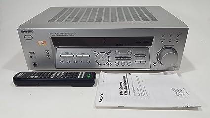 amazon com sony str k740p silver fm stereo fm am receiver 5 1 rh amazon com Sony STR K740P Remote Sony STR K740P Set Up