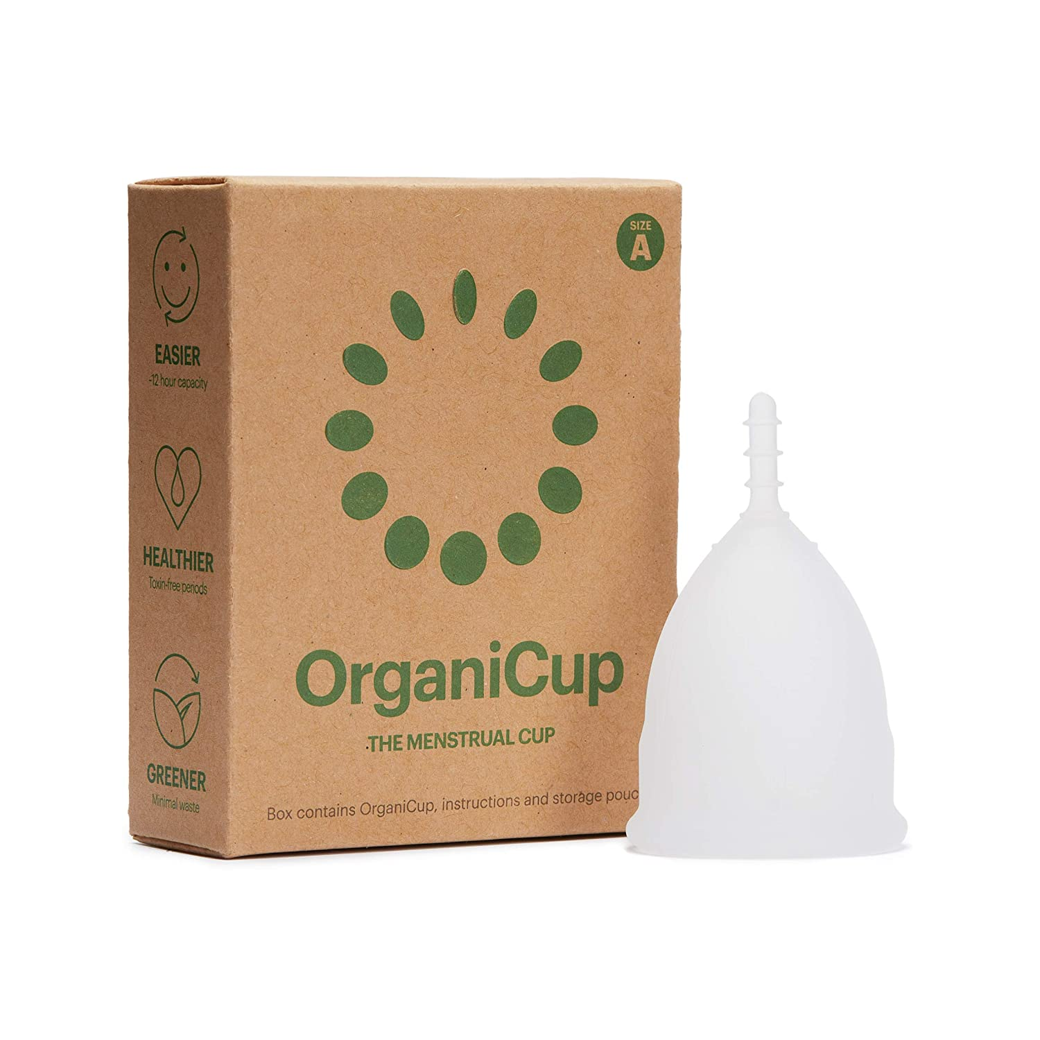 OrganiCup Menstrual Cup A