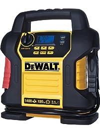 DEWALT DXAEJ14 Power Station Jump Starter: 1400 Peak/700 Instant Amps, 120 PSI Digital Air Compressor, 3.1A USB Ports...