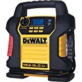 DEWALT DXAEJ14 Digital Portable Power Station Jump Starter: 1400 Peak/700 Instant Amps, 120 PSI Digital Air Compressor, 3.1A