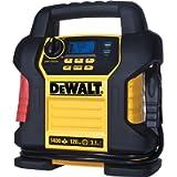 DEWALT DXAEJ14 Digital Portable Power Station Jump Starter: 1400 Peak/700 Instant Amps, 120 PSI Digital Air Compressor…