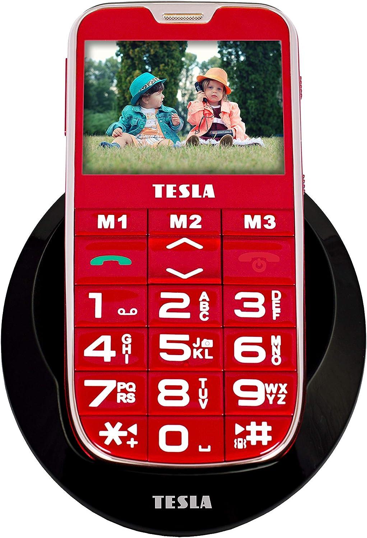 Tesla SimplePhone A50 - Teléfono móvil con estación de Carga ...