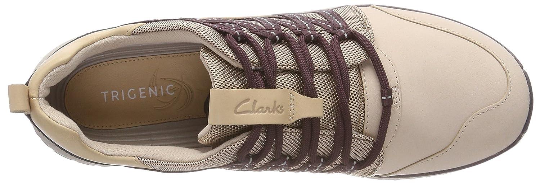 Clarks Damen Sneaker Tri Trail Sneaker Damen Beige (Nude Pink Combi) 8abc2f
