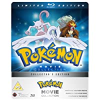 Pokemon Movie 1-3 Collection - Limited Edition Blu-ray Steelbook [UK Import]