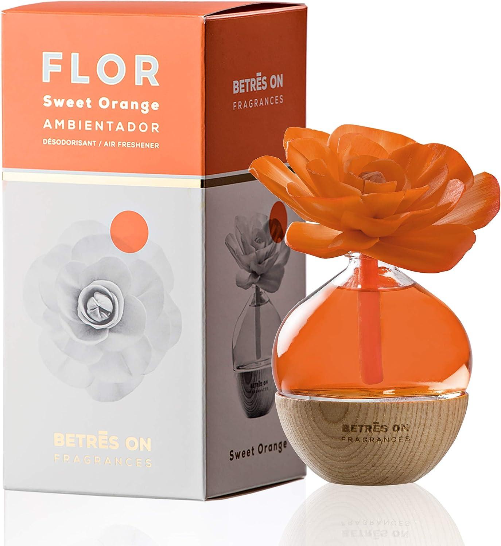 Fragancias & Sensaciones S.L. Ambientador Flor Premium Orange 85Ml ...