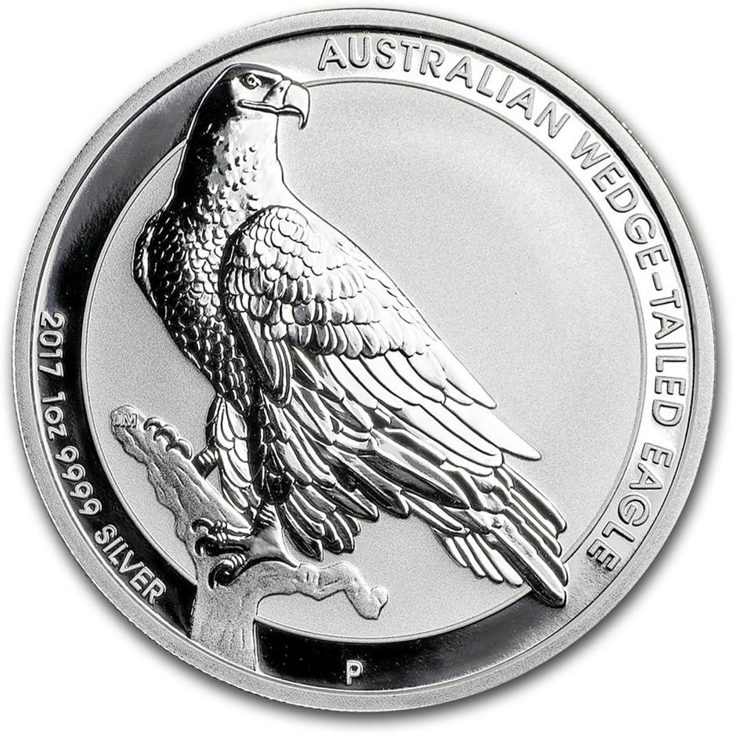 2018 Silver 1 oz Australia Perth Wedge-Tailed Eagle BU
