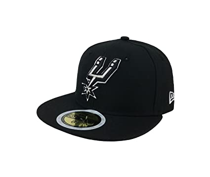 reputable site e22fc efe64 New Era 59Fifty Kid s Hat NBA San Antonio Spurs Classic Wool Black Fitted  Cap (6