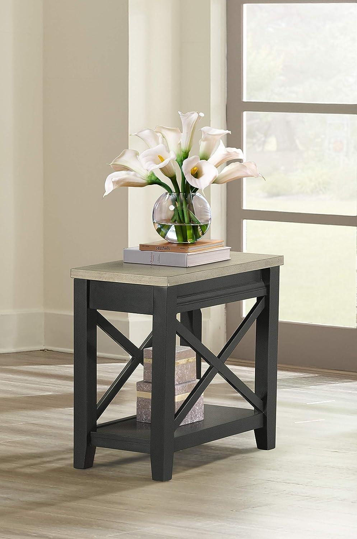 Lane Home Furnishings Chair Side Table, Chairside, brown
