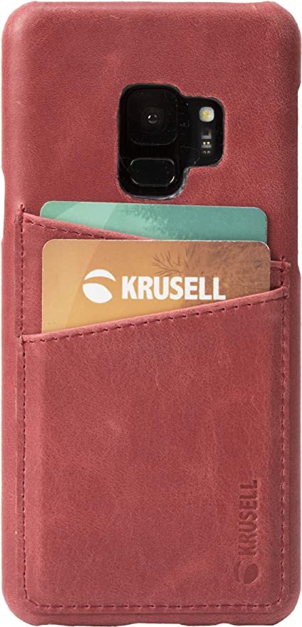 Krusell 61263 Coque de Protection pour Samsung Galaxy S9 Rouge ...