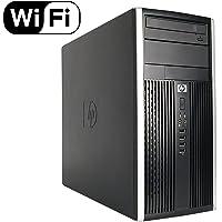 HP CR16VFHPDT0129 6200 computadora de computadora de Torre de Alto Rendimiento, Intel Core i3 2100 3.1G, 4 G DDR3, 250 G HDD, DVDRW, Windows 10 Professional, CR16VFHPDT0129, Negro