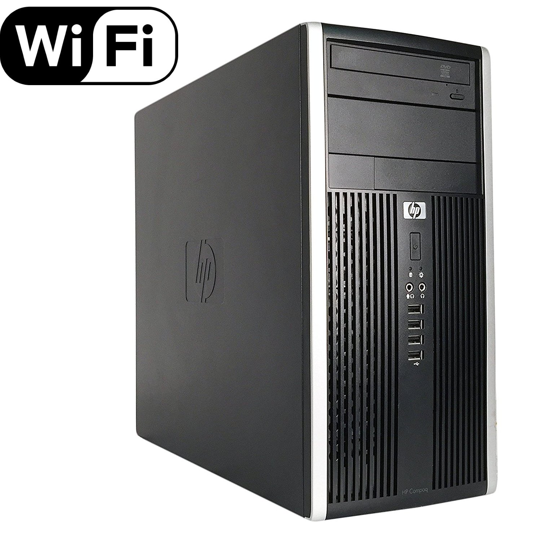 Amazon.com: 2018 HP Compaq Pro 6200 Mini PC Business High Performance Tower Desktop  Computer(Intel Core i5-2400 3.1GB,8GB DDR3,120GB SSD+2TB,DVD-ROM,DP to ...