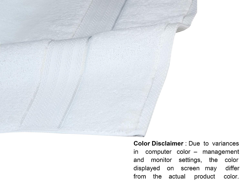 Glamburg Luxury Premium 700 GSM 8-Piece Towel Set Burgundy 30x54