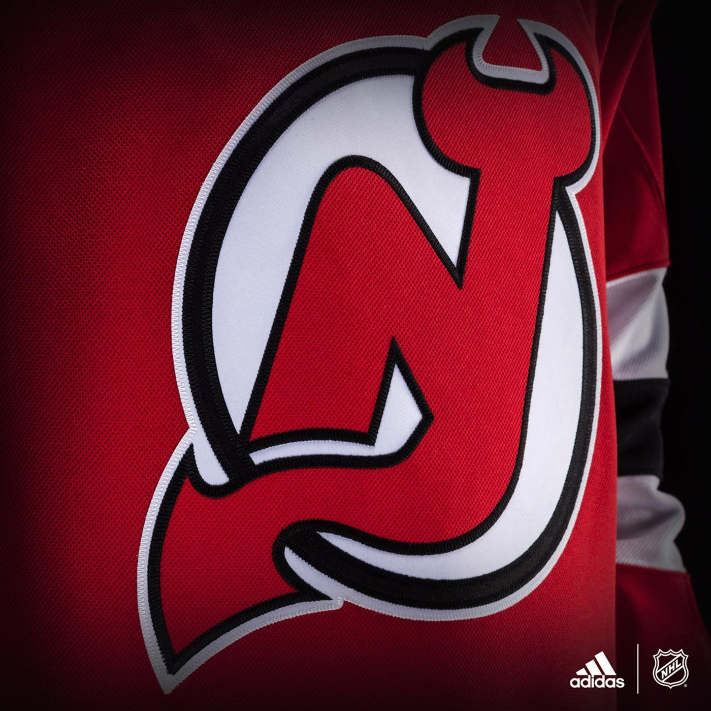83d9c780b90 Amazon.com   adidas New Jersey Devils NHL Men s Climalite Authentic Team Hockey  Jersey   Sports   Outdoors