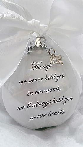 amazon com miscarriage memorial christmas ornament w charm