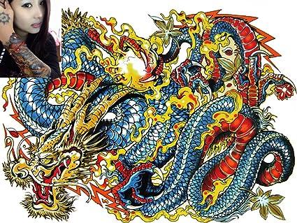 Novu Ink Tattoo Artist tatuaje temporal transferencia impermeable ...