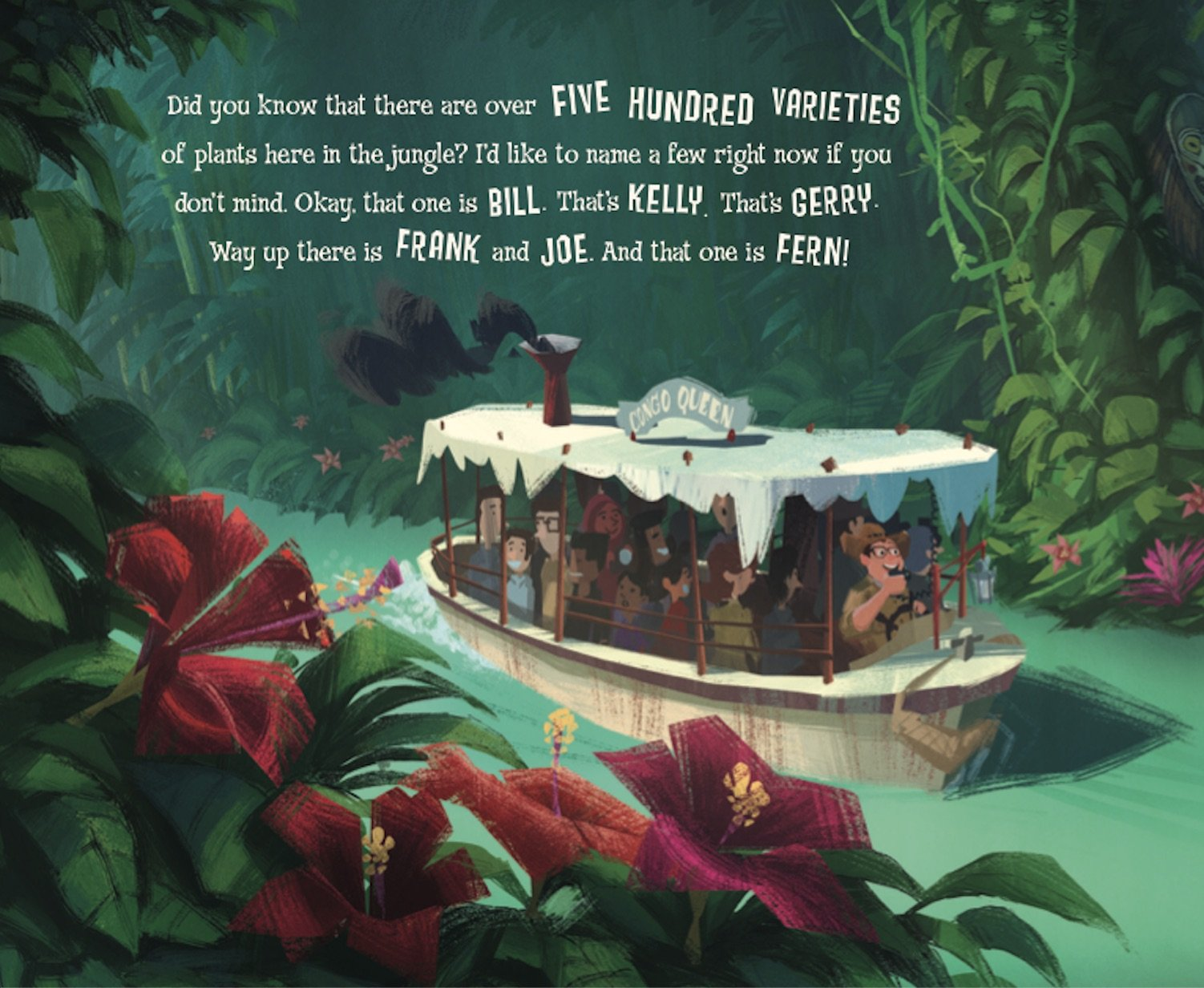 Disney Parks Presents: Jungle Cruise: Purchase Includes a CD with Narration! by Disney Press (Image #2)