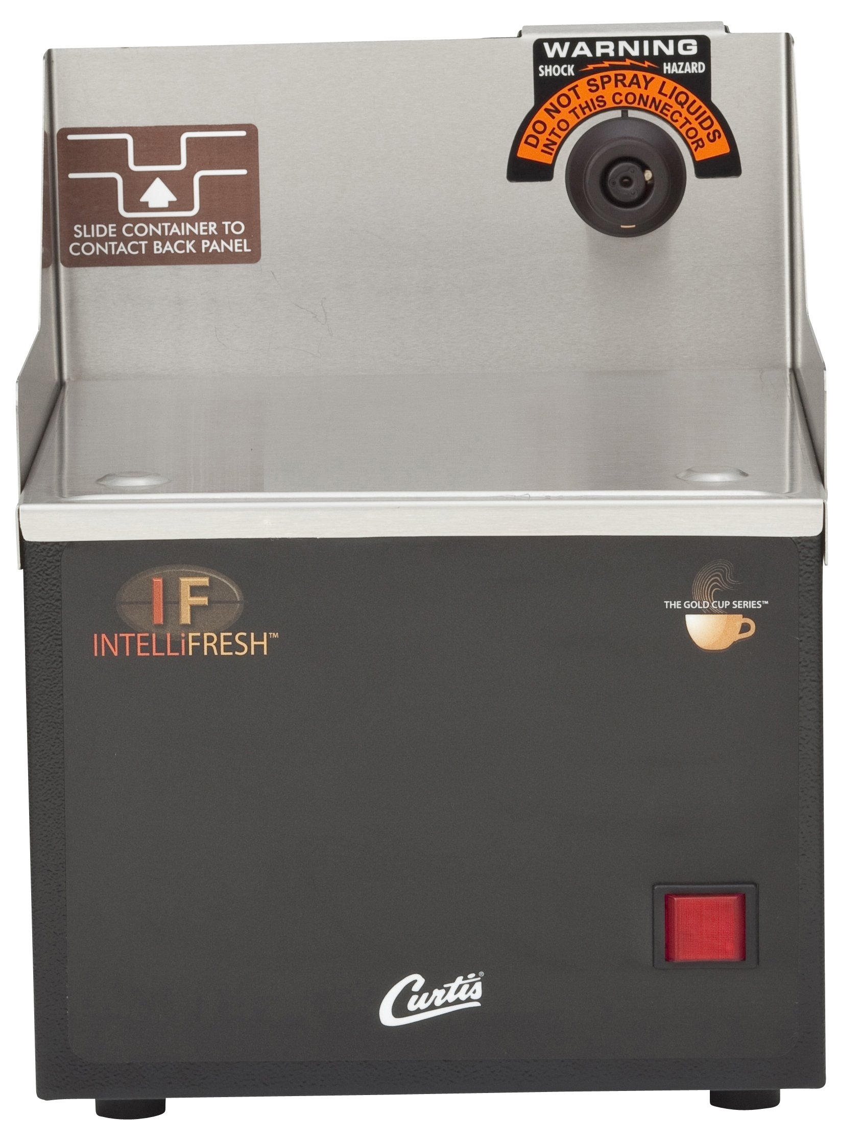 Wilbur Curtis Gemini Intellifresh Warmer Stand, Single - Commercial Beverage Warmer Stand with Easy Temperature Controls - GEM5IF (Each)