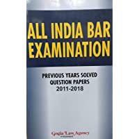 AIBE - All India Bar Examination - Previous Year Solved Question Papers 2011-2018