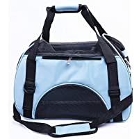 Pet Handbag, Travel Transport Shoulder Carrier Bag Portable Foldable Pet Bag Airline Approved for Small Dogs, Cats and…