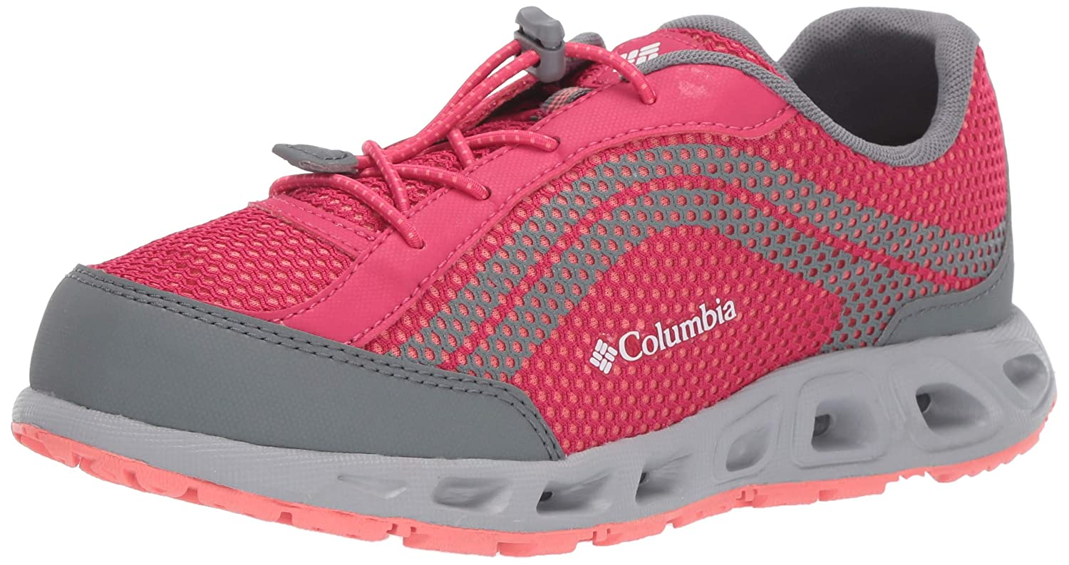 Graphite//Tangy Columbia Unisex Youth Drainmaker IV Kinderschuhe