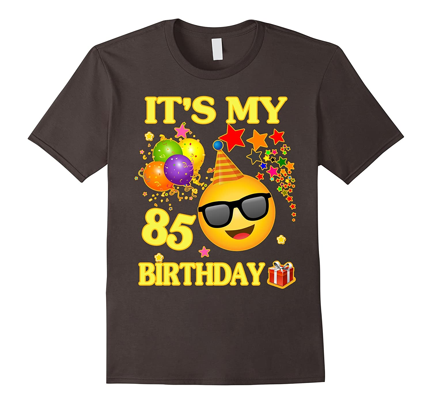 Its My 85th Birthday Shirt 85 Years Old Gift Ah One