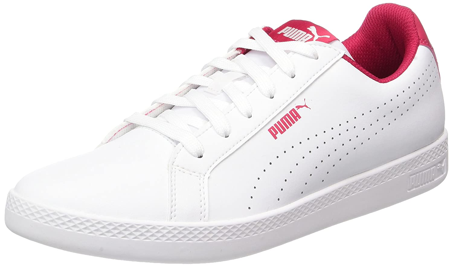 Puma Damen Smash Perf Sneaker  42 EU|Wei? (White-love Potion)
