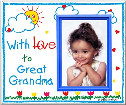 Amazon.com - With Love to Great Grandma! - Picture Frame Gift ...