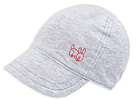 d6aa17b4 keepersheep Baby Reversible Baseball capã'â Infant Sun hat, Shell  Embroidery Cotton (0-3 Months, Gray): Amazon.in: Baby