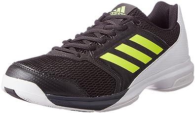 Black Sports Tennis Handball Breathable adidas Mens Essence Indoor Court Shoes