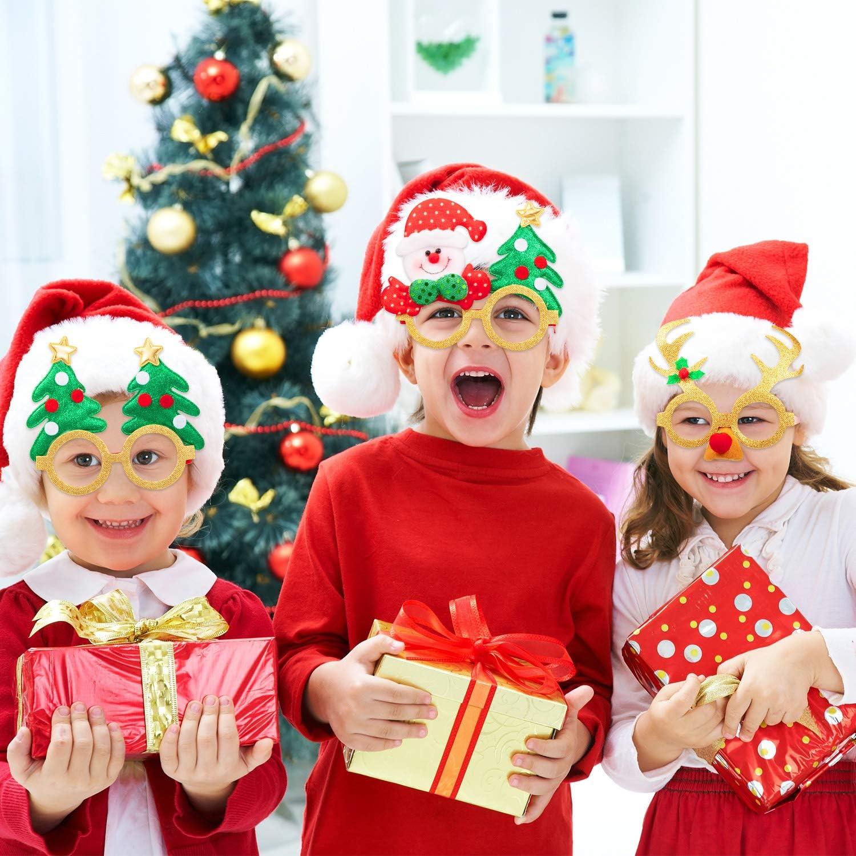 Navidad Santa Sombrero Novedad Navidad Diadema Pelo Banda Fiesta Deeley Boppers