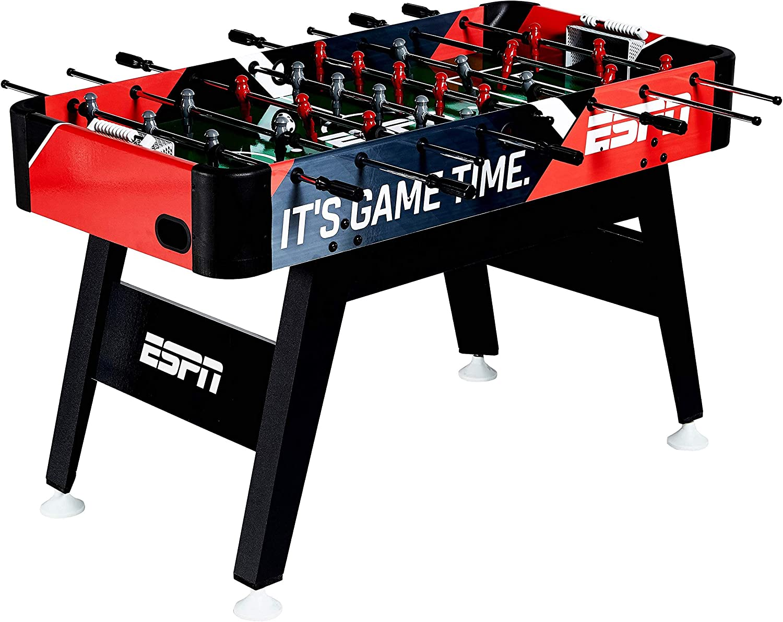 Espn – Futbolín Fútbol arcadetable con Bead puntuación y accesorios: Amazon.es: Deportes y aire libre