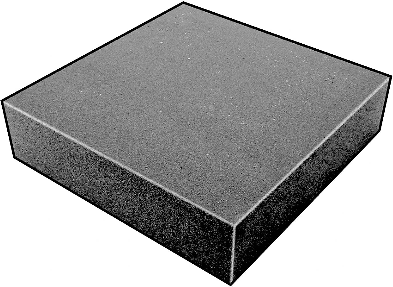 3 Thick Charcoal Open Cell Foam Sheet 24 W X 24 L 200100 Polyurethane