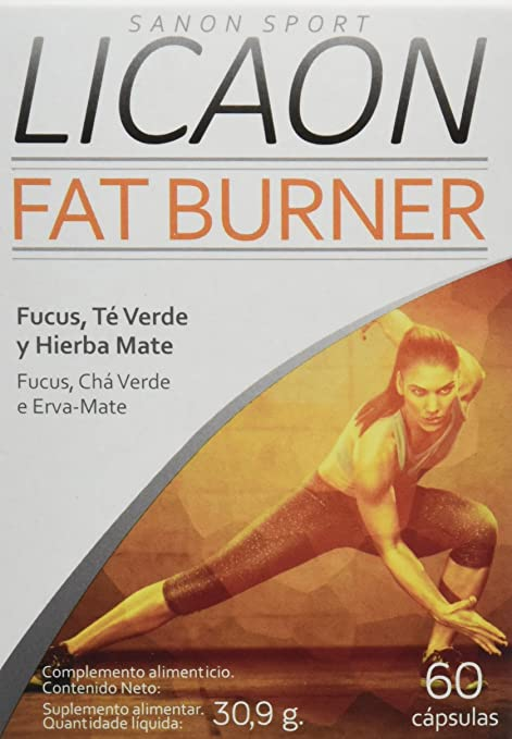Sanon Sport Licaon Fat Burner - 3 Paquetes de 60 Cápsulas ...