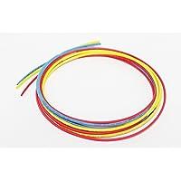 G&S Polyolefin Heat Shrink Tube Sleeve (Red, Blue, Yellow, 3m)