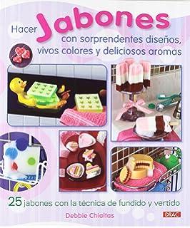 Hacer jabones con sorprendentes diseños (Spanish Edition)
