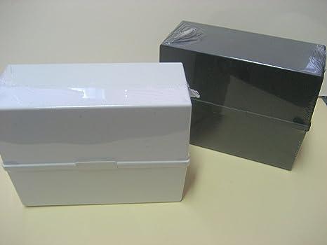 Schedario Ufficio Nero : Schedario memo box a5 in nero: amazon.it: cancelleria e prodotti per