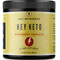 Exogenous Ketone Supplement, Key Keto: Patented BHB Salts (Beta-Hydroxybutyrate) - Formulated for Ketosis, to Burn Fat…