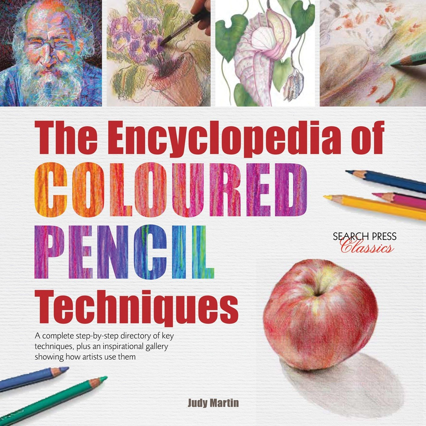 Encyclopedia Coloured Pencil Techniques step product image