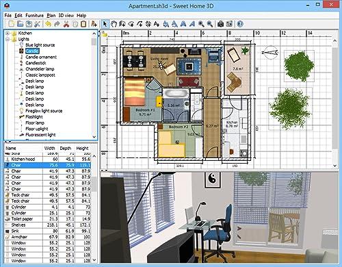 sweet home 3d download. Black Bedroom Furniture Sets. Home Design Ideas