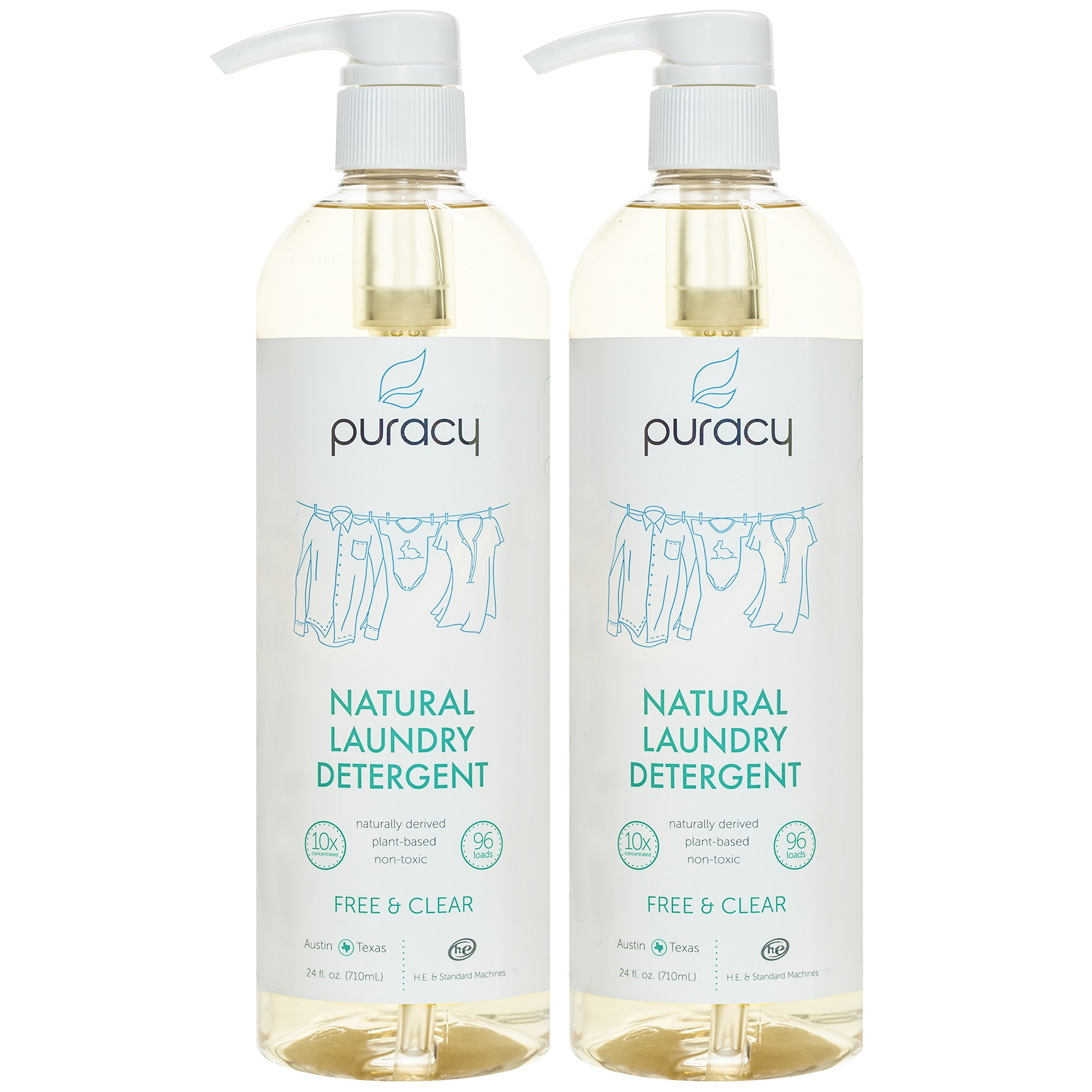 Amazon Com Puracy Natural Laundry Stain Remover 2 Pack