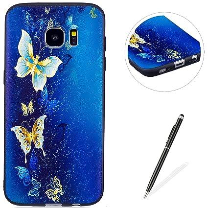 Amazon.com: magqi Samsung Galaxy S7 Edge caso, antiarañazos ...