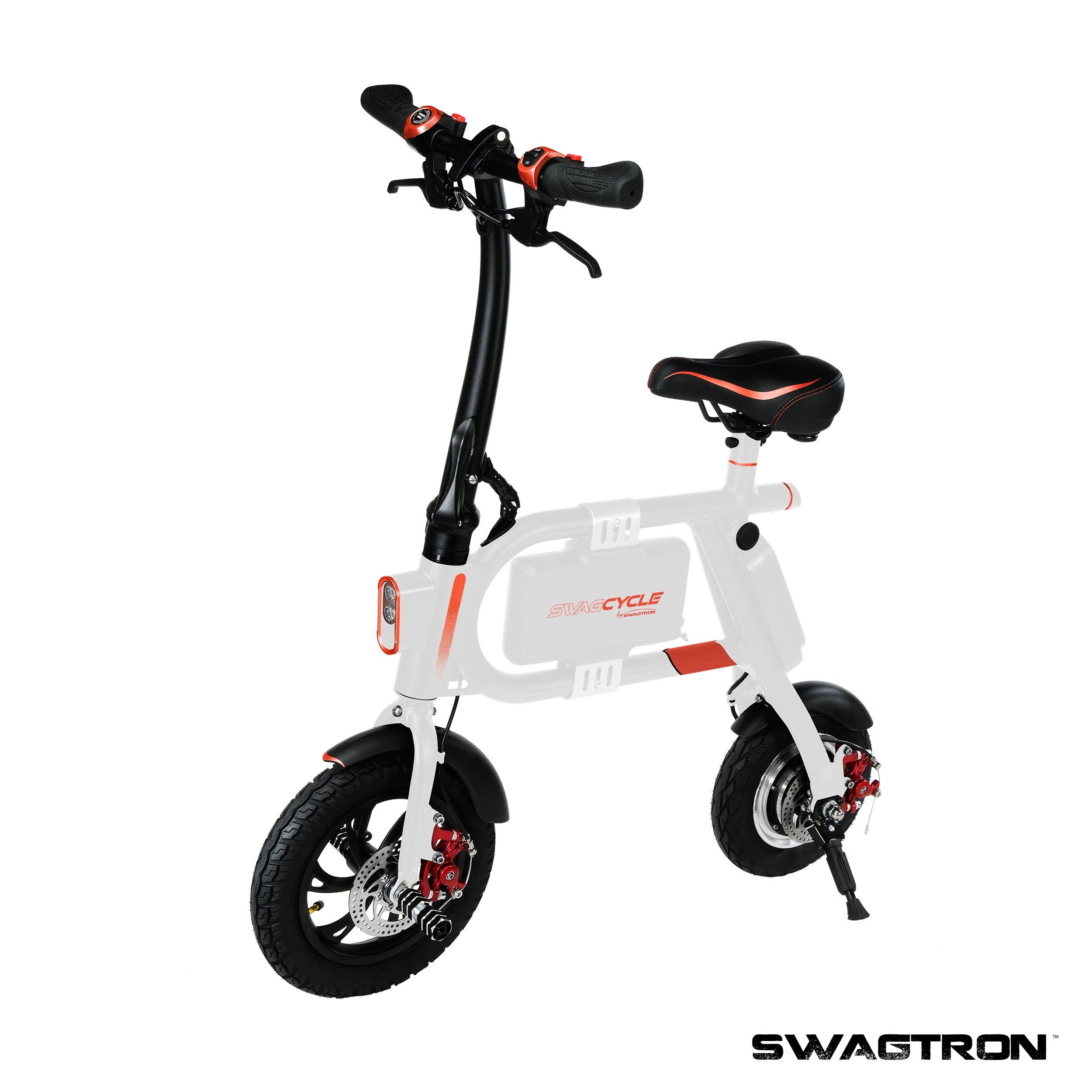 10 Mile Range Collaps Swagtron Swagcycle E Bike Folding