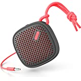 NudeAudio Move S (Wired) Portable Wireless Speaker Charcoal/Coral
