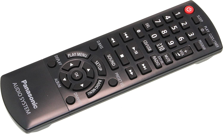 Panasonic N2QAYB001101 - Mando a distancia para SC-PMX100, SC-PMX70, SC-PMX80, SC-PMX82
