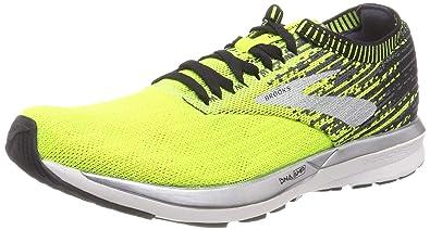 8e655cf5cd7 Brooks Men s Ricochet Nightlife Black Ebony Running Shoes-10 UK India (