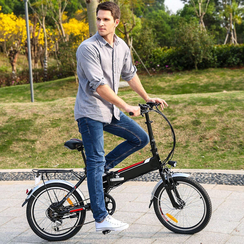 Speedrid Bicicleta el/éctrica ebike electrica 26//20 Ebike ebike monta/ña para Bicicleta con Motor sin escobillas 250 W Bater/ía de Litio 36 V 8 Ah Shimano Velocidad 21//7